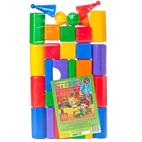 Фото - Кубики Строим вместе счастливое детство Стена-2 5247 кубики строим вместе счастливое детство набор 2 5253