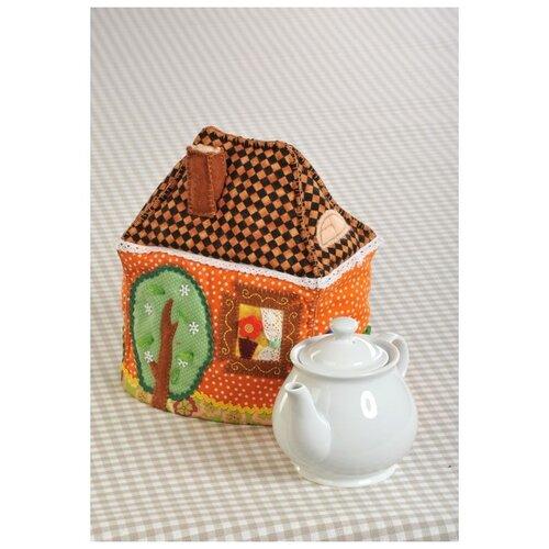Набор для шитья «Чайный домик-Грелка» (грелка на чайник), Перловка