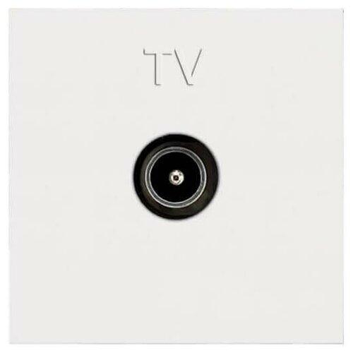 Розетка TV ABB Zenit альпийский белый 2CLA225070N1101 рукоятка для силовых выключателей разъединителей abb 1sca108690r1001