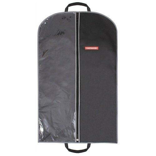 Фото - HAUSMANN Чехол для одежды HM-701002 100x60 см черный hausmann чехол для верхней одежды hm 701403 140x60 см черный