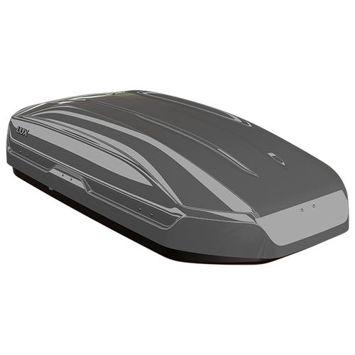 Багажный бокс на крышу Lux Tavr 175 (450 л) серый металлик
