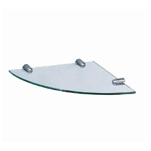 WasserKRAFT K-533 Полка стеклянная угловая