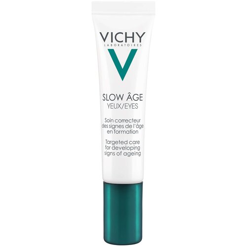 Фото - Vichy Укрепляющий уход для контура глаз SLOW AGE, 15 мл восстанавливающий и укрепляющий уход для кожи вокруг глаз vichy vichy mineral 89 15 мл