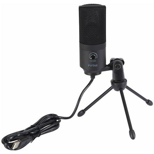 Конденсаторный студийный USB-микрофон FIFINE K669B