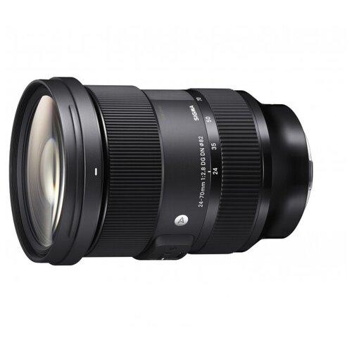 Фото - Объектив Sigma AF 24-70 mm F2.8 DG DN Art Sony E-Mount черный объектив sigma af 85mm f 1 4 dg dn art sony e