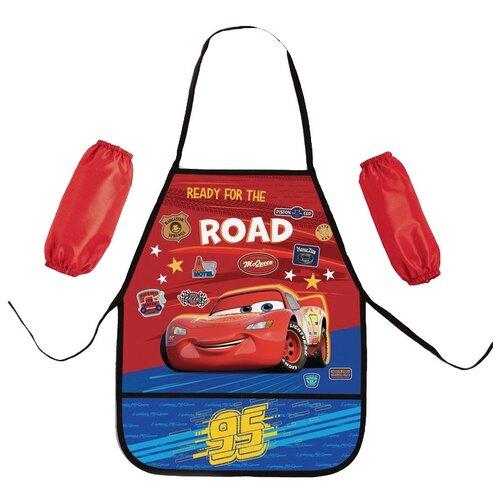 IMC Toys Фартук с нарукавниками Disney Тачки красный