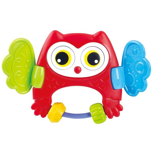 Купить Развивающая игрушка-погремушка Сова , PlayGo, Развивающие игрушки
