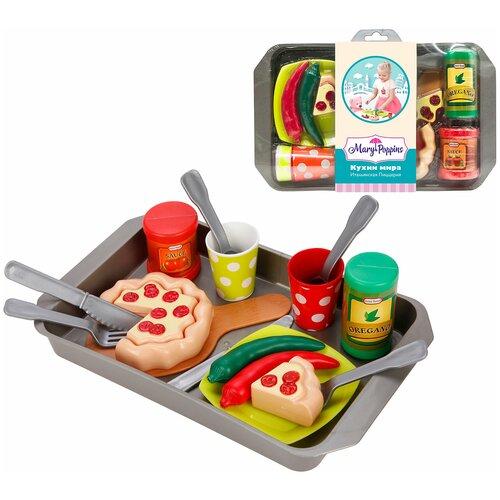 набор продуктов с посудой mary Набор продуктов с посудой Mary Poppins Итальянская пиццерия 453140
