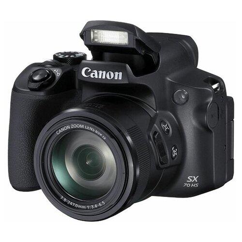 Фотоаппарат Canon PowerShot SX70 HS черный