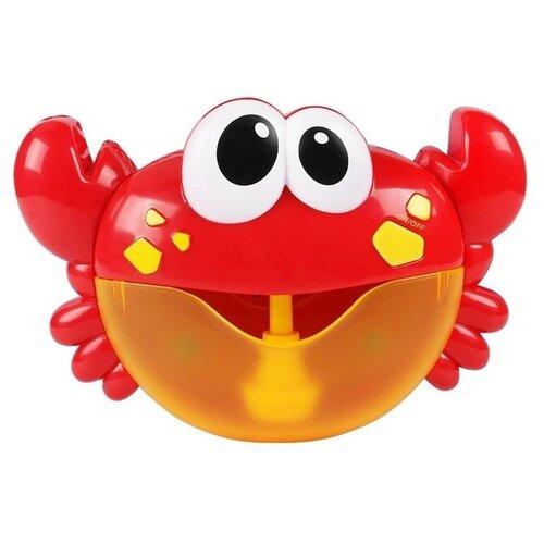 Купить Игрушка для ванной Junfa toys Краб красный, Игрушки для ванной