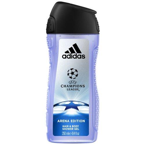 Купить Гель для душа и шампунь Adidas UEFA champions league Arena edition, 250 мл