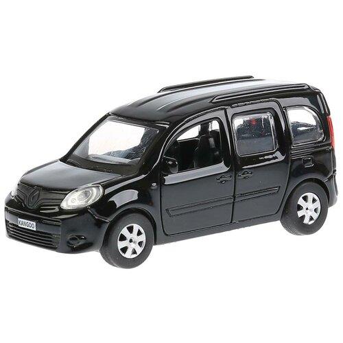 Легковой автомобиль ТЕХНОПАРК Renault Kangoo (KANGOO-SL/BK/RD), 12 см, черный легковой автомобиль технопарк renault kaptur 1 36 12 см оранжевый