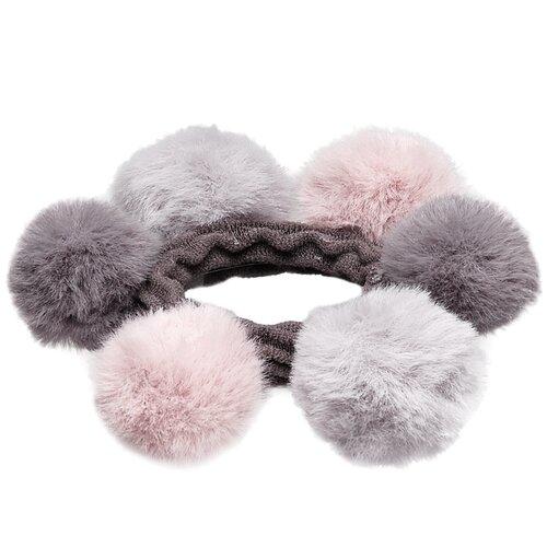 Резинка для волос Пора мечтаний Nothing Shop (бледно-розовый; светло-серый; серый)