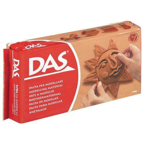 Купить Паста для моделирования, 500 грамм (терракот), Das, Пластилин и масса для лепки