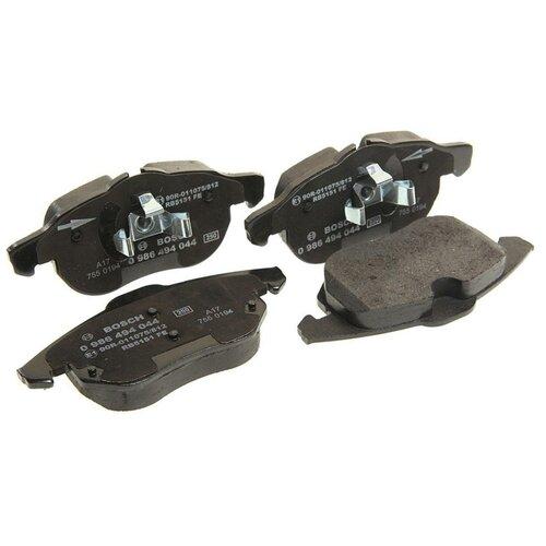 Дисковые тормозные колодки передние Bosch 0986494044 для Opel Astra, Opel Vectra, Opel Zafira (4 шт.) дисковые тормозные колодки задние bosch 0986424646 для opel astra opel zafira 4 шт