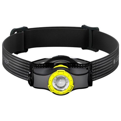 Фото - Налобный фонарь LED LENSER MH3 чёрный/жёлтый налобный фонарь mh3 черный с серым