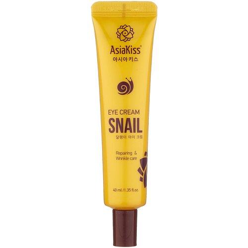 Фото - Asiakiss Крем для кожи вокруг глаз Snail Eye Cream, 40 мл asiakiss крем для кожи вокруг глаз snail eye cream 40 мл