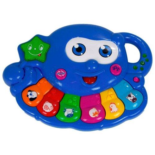 развивающая игрушка умка обучающее пианино м дружинина разноцветный Интерактивная развивающая игрушка Умный Я Обучающее пианино (ZY173454)