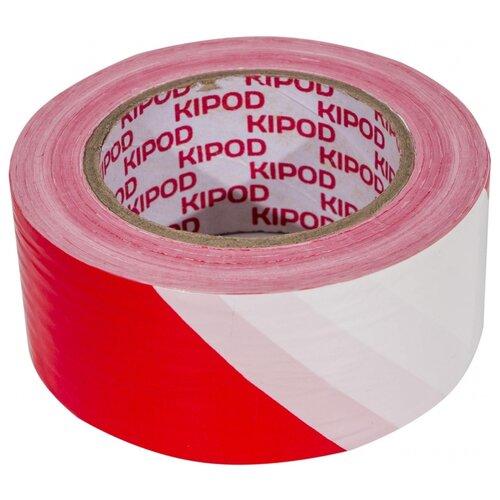 Фото - Оградительная лента KIPOD 006508001 красный/белый оградительная лента зубр мастер 12240 75 200 красный белый 1 шт