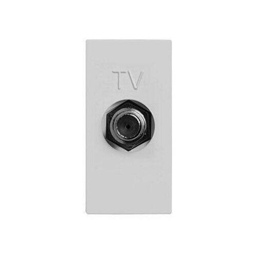 Розетка TV ABB Zenit серебро 2CLA215000N1301 рукоятка для силовых выключателей разъединителей abb 1sca108690r1001