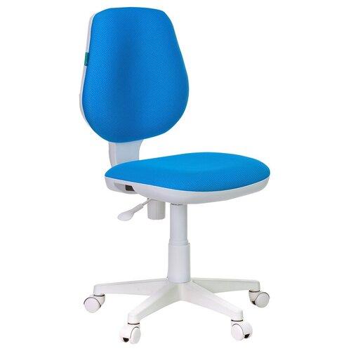 Компьютерное кресло Бюрократ CH-W213 детское, обивка: текстиль, цвет: голубой компьютерное кресло бюрократ ch 204nx детское детское обивка текстиль цвет синий карандаши