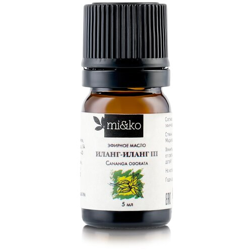 MI&KO эфирное масло Иланг-иланг III 5 мл