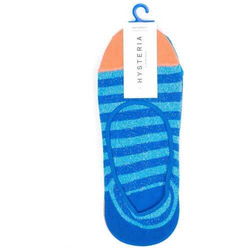 Комплект носков женских премиального бренда Hysteria 2 Pair Pack No Show - Claudia - Blue 36-38
