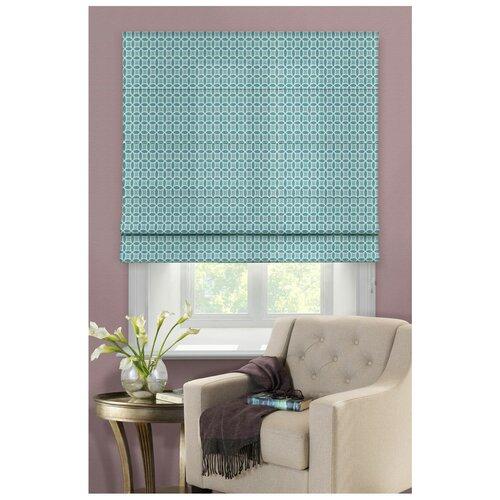 Фото - Римская штора Эскар Линза (синий), 160х160 см римская штора эскар линза синий 160х160 см