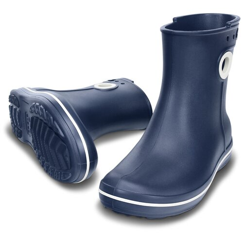 Резиновые сапоги Crocs Women's Jaunt Shorty Boot, размер 38(W8), navy