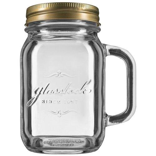 Фото - Glasslock Банка с ручкой для хранения IP-626H 500 мл прозрачный/бронза банка для хранения солений ягод варенья 4 л 16х13 5х29 см ip 636 glasslock