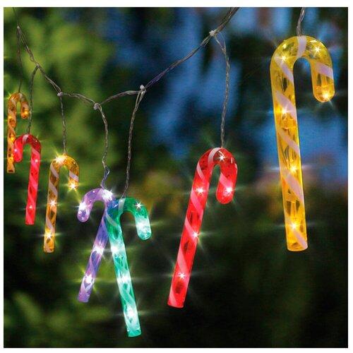 Гирлянда Sh Lights Леденцы,170 см, CNLD12M-C, 48 ламп, разноцветные диоды/прозрачный провод