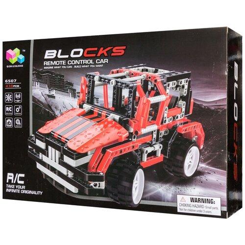 Купить Конструктор Qi Zhi Le R/C Blocks Car 6507, Конструкторы
