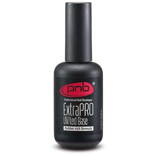 Купить PNB базовое покрытие ExtraPRO Base Rubber rich formula 17 мл прозрачный