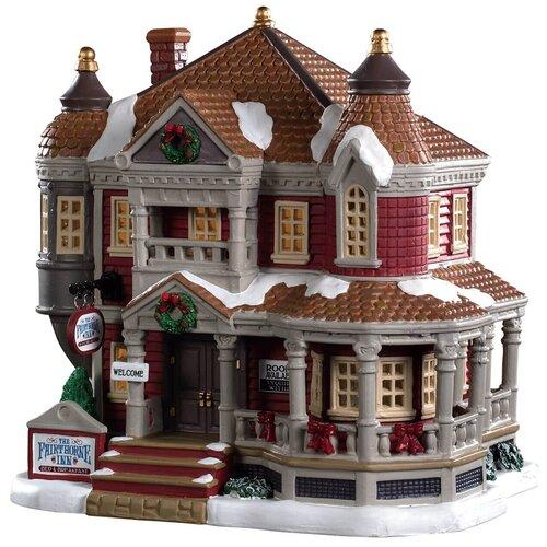 фигурка lemax отель яркий шип 20 х 20 2 х 15 7 см коричневый красный Фигурка LEMAX отель Яркий шип 20 х 20.2 х 15.7 см коричневый/красный