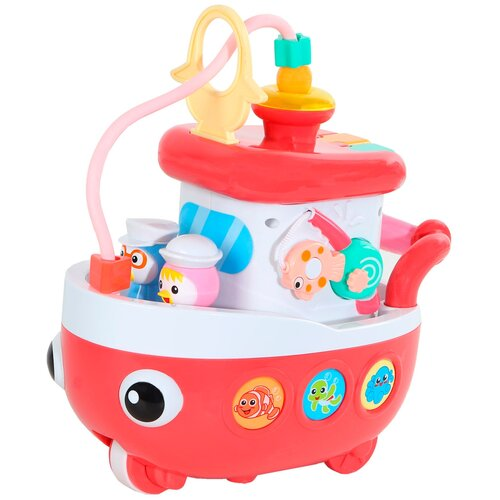 Купить Развивающая игрушка Smart Baby Корабль, красный, Развивающие игрушки