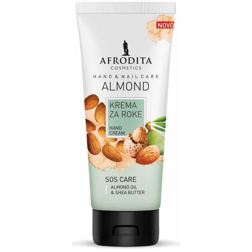 Крем для рук и ногтей 2в1 Almond, Afrodita Cosmetics, Словения, 100мл