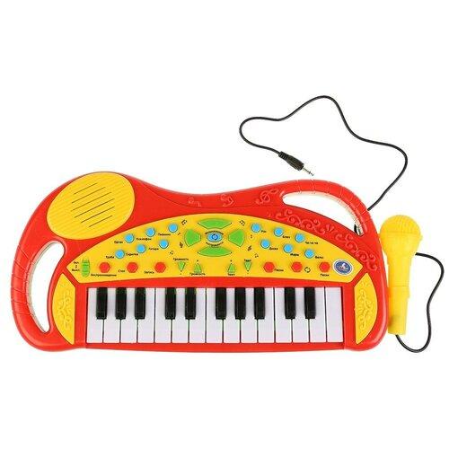 Фото - Умка пианино B1454100-R красный/желтый игрушка для ванной умка бегемотик b1410463 r красный желтый зеленый
