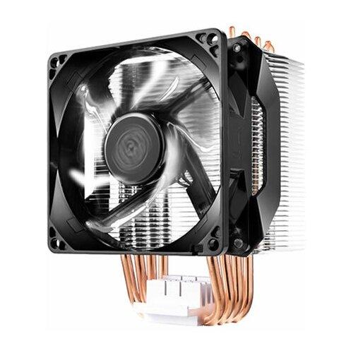 Кулер для процессора Cooler Master Hyper H411R серебристый/черный/белая подсветка