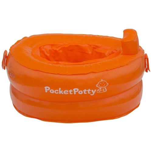ROXY-KIDS горшок дорожный PocketPotty оранжевый