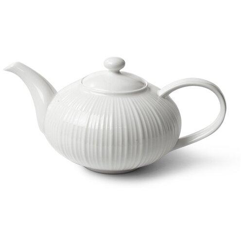 Fissman Заварочный чайник Elegance White 1 л fissman заварочный чайник sweet dream 1 5 л белый