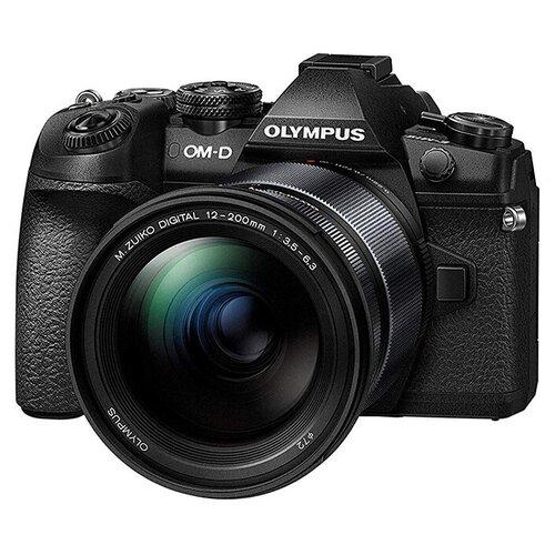 Фотоаппарат Olympus OM-D E-M1 Mark II Kit черный M.ZUIKO Digital ED 12-200mm 1:3.5-6.3 IS