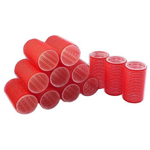 Фото - Бигуди-липучки Sibel Velcro 4124049 (36 мм) 12 шт. красный мягкие бигуди sibel foam 4251933 34 мм 5 шт желтый