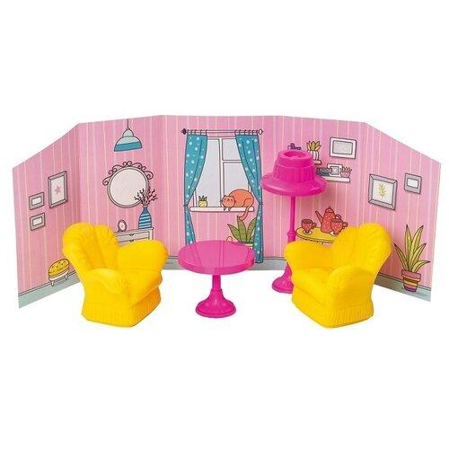 ОГОНЁК Комната отдыха с интерьером (С-1484) желтый/розовый недорого