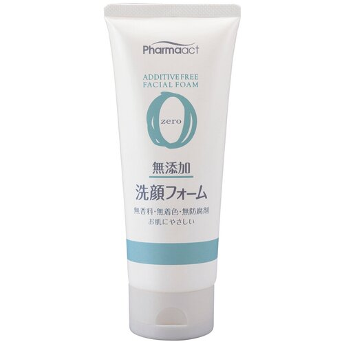 KUMANO средство для умывания для чувствительной кожи Pharmaact, 130 мл kumano cosmetics пенка д умыв против черных точек pharmaact 130 гр kumano cosmetics косметика для умывания