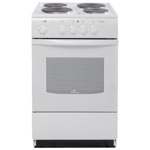 Электрическая плита De Luxe 5004.12э белый электрическая плита de luxe 5004 18э