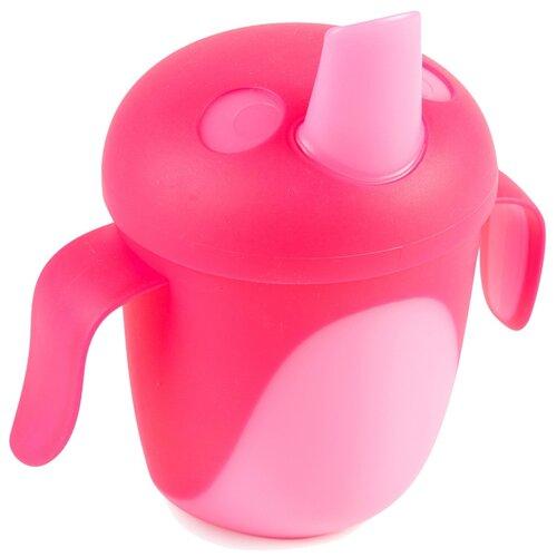 Фото - Чашка-непроливайка Canpol babies Tropical Bird, 240 мл, 9+ месяцев, цвет: розовый (250989472) поильник непроливайка canpol babies tropical bird 76 001 240 мл желтый