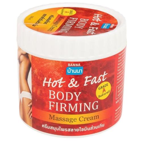 Моделирующий разогревающий антицеллюлитный крем для тела Banna Hot & Fast, 500 мл.