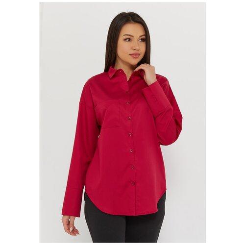 Рубашка Katharina Kross, размер 48, фуксия