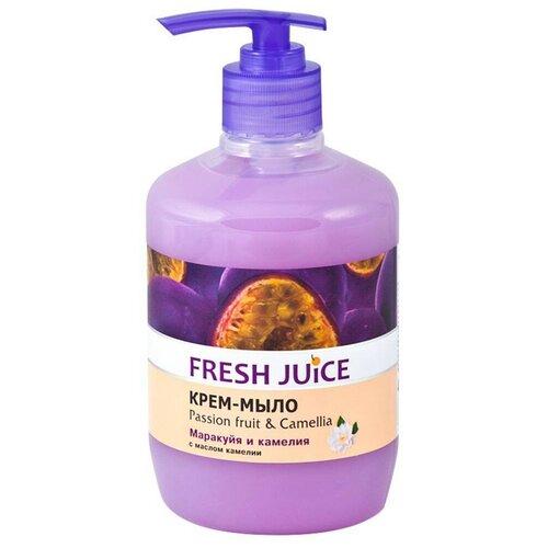 Крем-мыло Fresh Juice Маракуя и камелия, 460 мл
