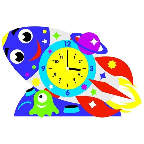 Детские часы Color Kit Ракета - набор для творчества CL021